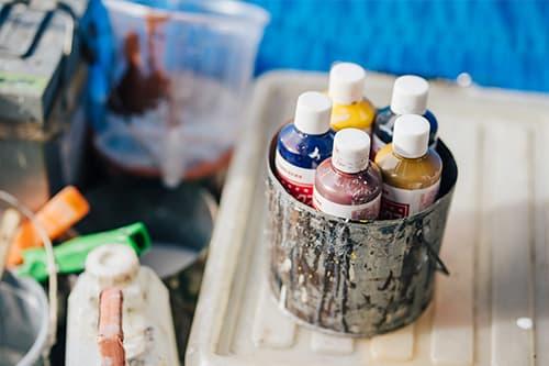 塗装の色選び・ご提案についてはお任せください
