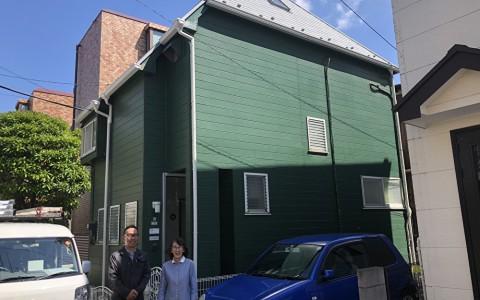 世田谷区のB様邸屋根トップライト・棟板金改修及び遮熱塗料工事