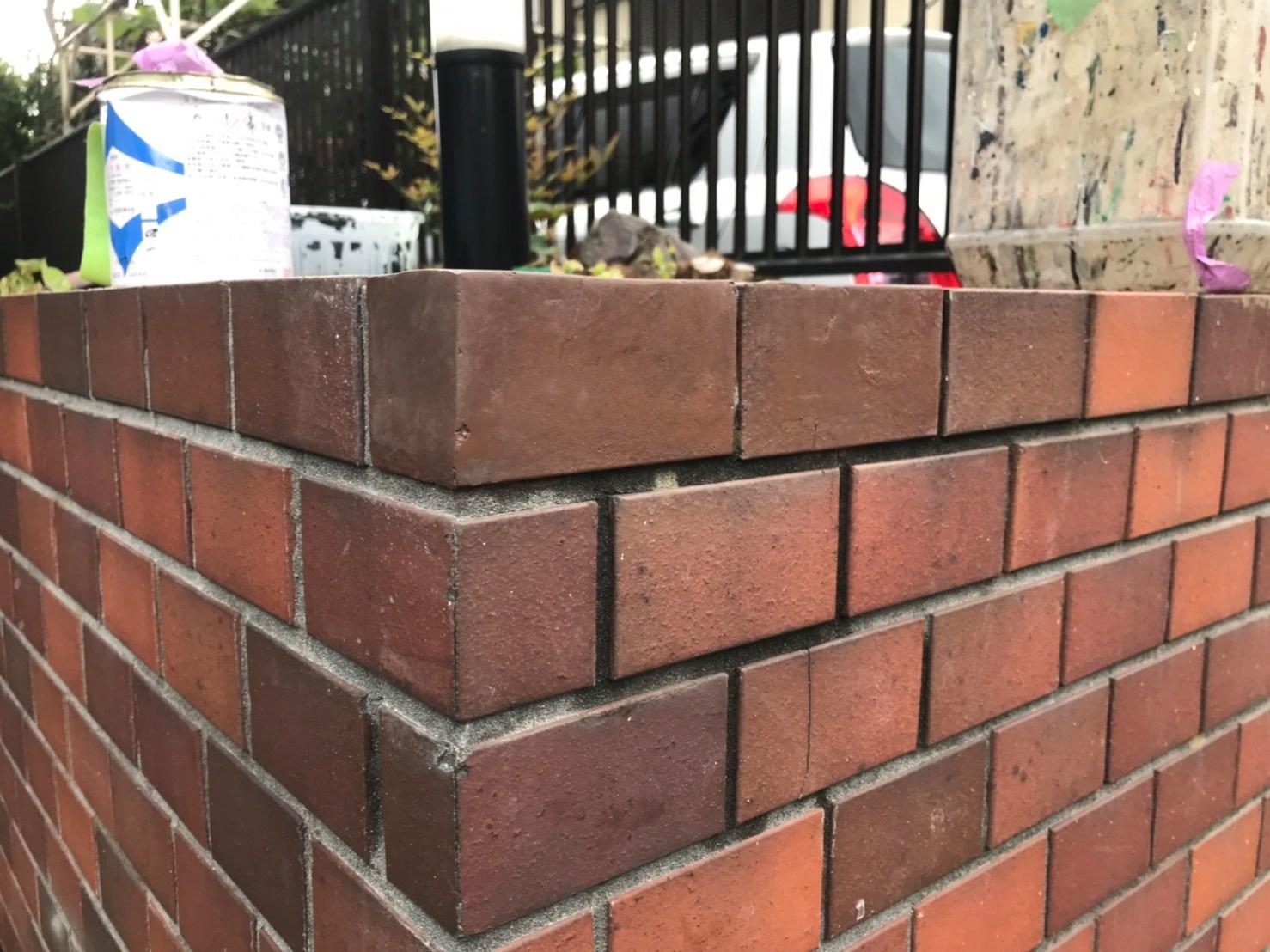 千葉県柏市のW様邸外構レンガ破損修復工事