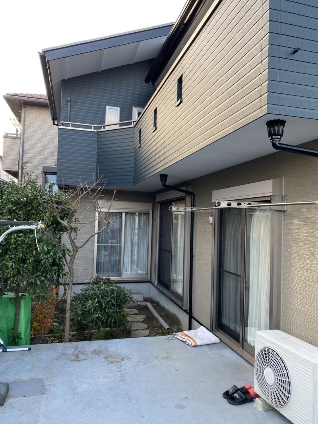 千葉県鎌ケ谷市T様邸 屋根外壁塗装工事