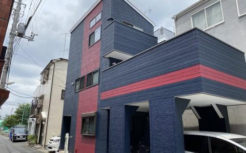 葛飾区Y様邸 ベランダ防水及び屋根外壁塗装工事