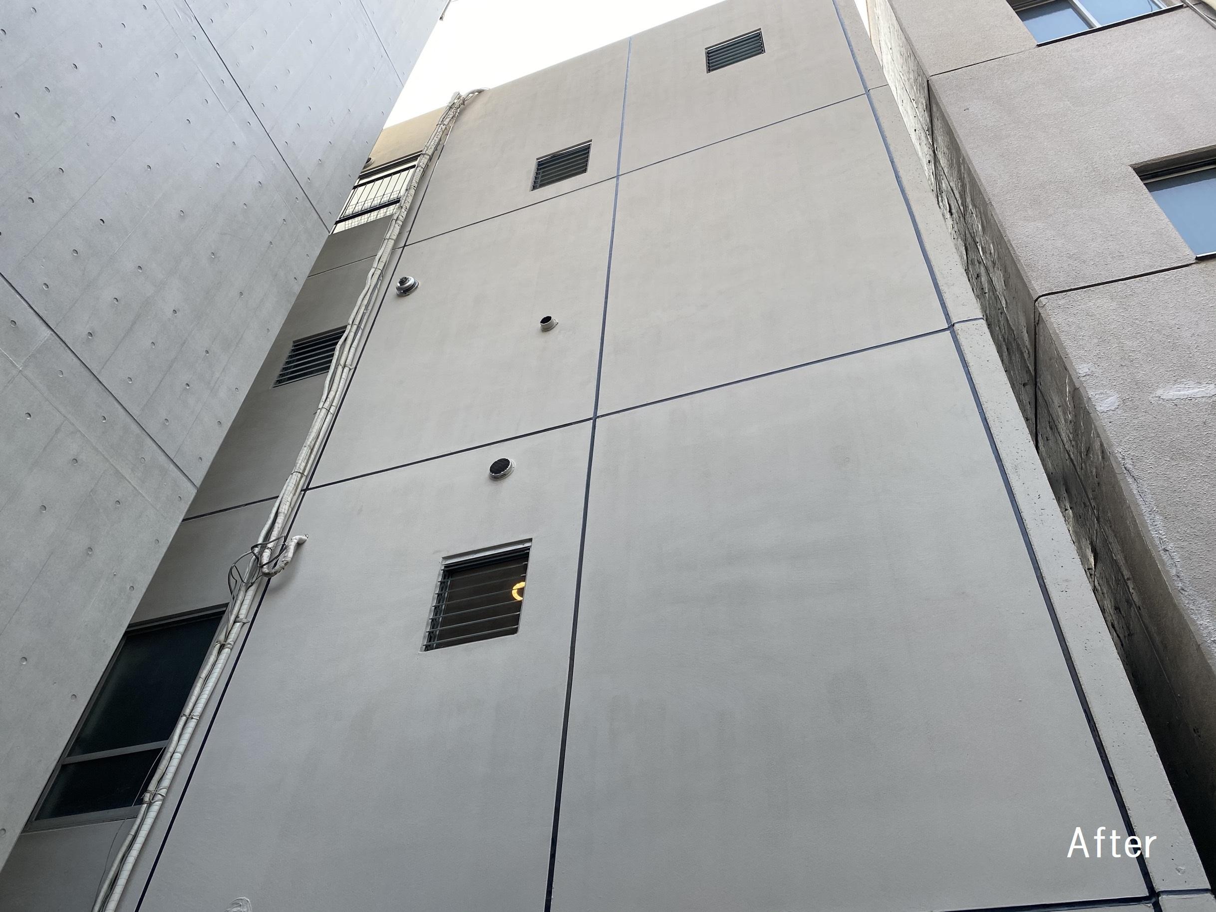 台東区N様邸 ビル外壁・屋上防水塗装工事