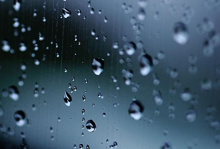 自然の恵み(降雨)を利用して、美観を保つ