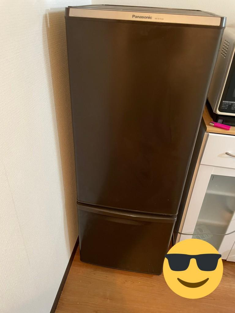 冷蔵庫を変えました