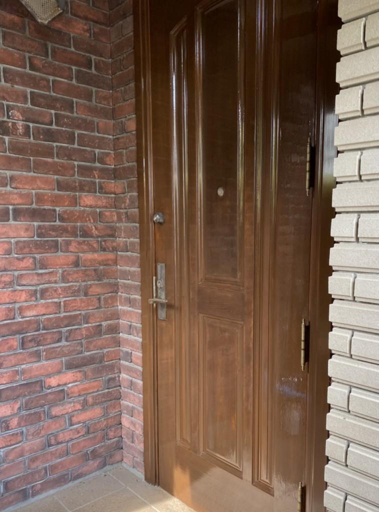 木部扉塗装