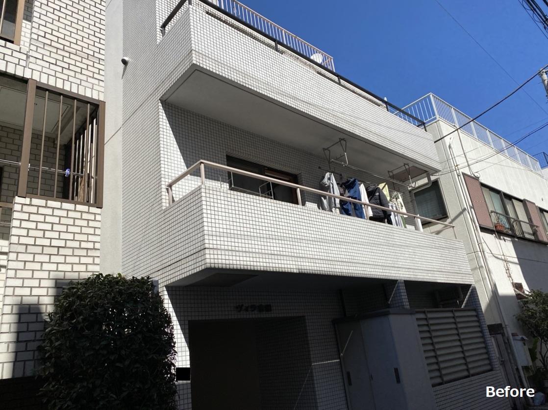 渋谷区Y様 マンション外壁塗装工事