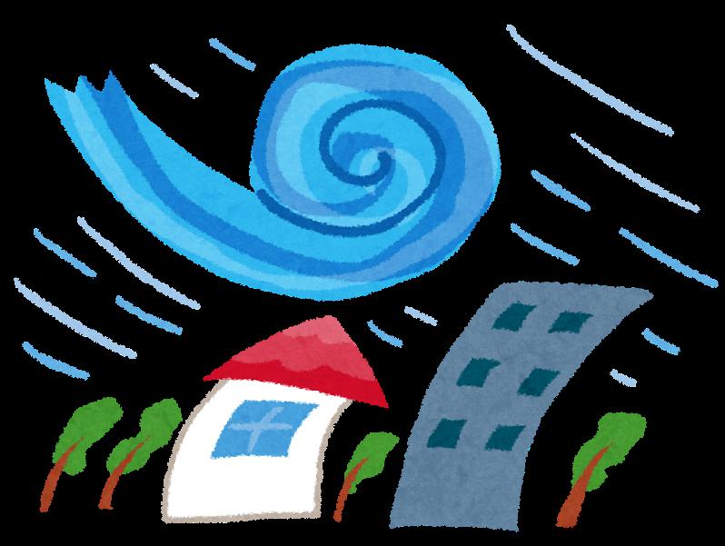 シャッターで窓の台風対策