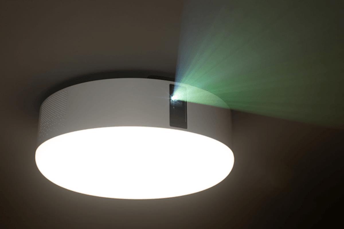 照明一体型のプロジェクター